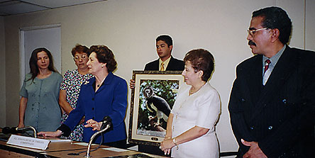 La Honorable Legisladora Susana Richa de Torrijos
